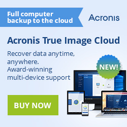 Acronis True Image 2014 Premium with 250GB Cloud Storage for $89.99 only!