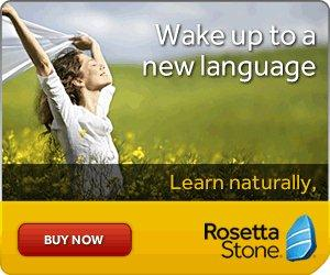 Successful, enjoyable language learning with Rosetta Stone. Award winning language learning software