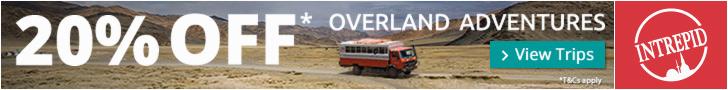 20% Off Dragoman Overland Trips w/ Intrepid Travel