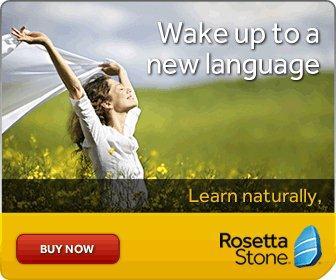 Successful, enjoyable language learning with Rosetta Stone. Award winning language learning software