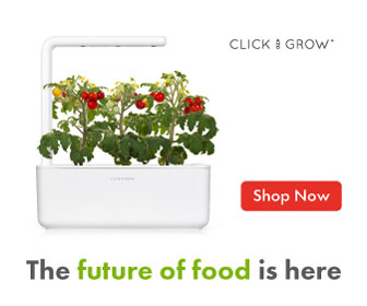 Garden Easily At home Indoors with Click & Grow smart gardens!