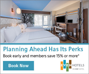 Planning ahead has it's perks. Book early and members save 15% or more!