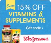 (9/8 - 9/14) 15% off Vitamins w/ code 15VITAMINS