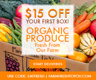 $15 OFF Organic Produce Box!