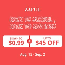 Zaful Back To School Sale