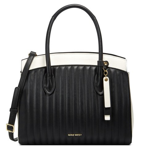 Nine West Women's Charlize Triple Compartment Satchel