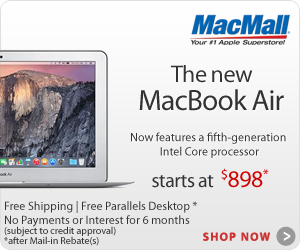The new MacBook Air from $994 at MacMall.com