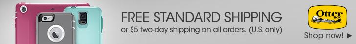 OtterBox.com: 728x90 Free Shipping