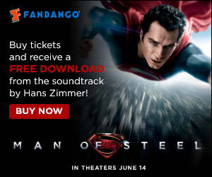 Man Of Steel Gift With Purchase