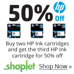 Buy 2 HP Ink Cartridges and Ge...