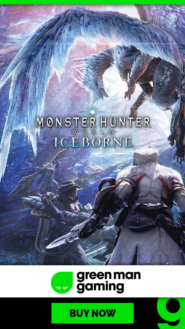 Pre-Purchase Monster Hunter World: Iceborne at Green Man Gaming