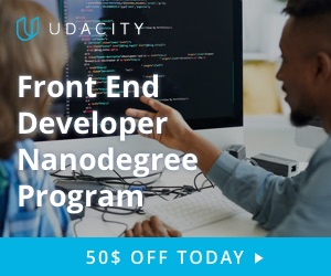 Udacity Nanodegree Program: Unlease Your Career. Enroll in a Front End Developer Nanodgree Program
