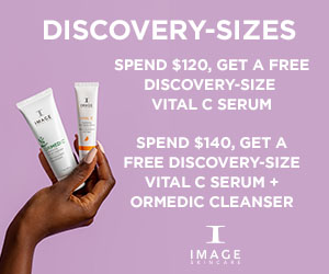 Discovery-sized Skincare. Spend $120 Get 1 FREE. Spend $140 Get 2 FREE.