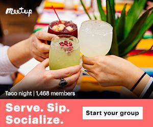 Serve. Sip. Socialize. Start your group.