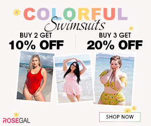 Colorful Swimwears-Buy 2 Get 10% Off,Buy 3 Get 20% Off