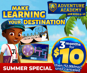 Adventure Academy - Get 3 Months for $10!