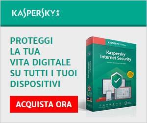 Proteggi il tuo PC e la tua privacy con Kaspersky!