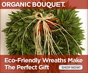 Eco-Friendly Wreaths Make the Perfect Gift!