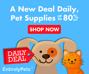 EntirelyPets Daily Deal - A new deal daily Banner