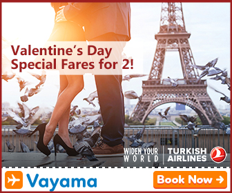 Vayama - Turkish Airlines: Enter to win 2 Economy tickets from San Francisco to Italy