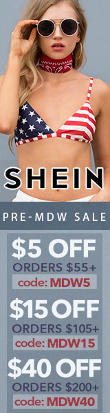 Enjoy $40 off orders $200+ with coupon code MDW40 at SheIn.com! Ends 5/29