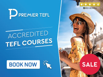 Accredited TEFL Courses Sale Banner Premier TEFL