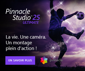 Télécharger Pinnacle Studio version gratuite avec 50% de remise sur Ultimate
