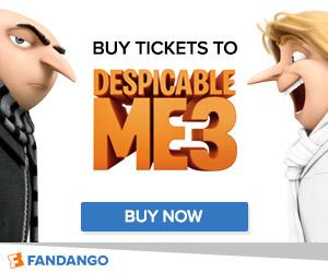 Fandango - Despicable Me 3 Tickets