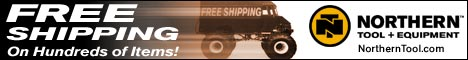 Northern Tool Free Shipping on orders $150 or more