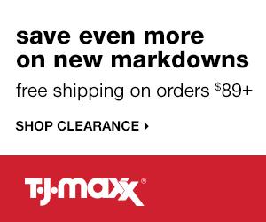 New Markdowns at TJ Maxx