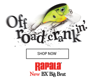 Rapala off road crankin fishing lure