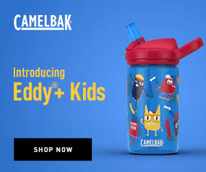 Eddy+ Kids Water Bottle