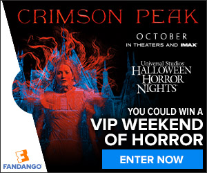 Crimson Peak Sweepstakes