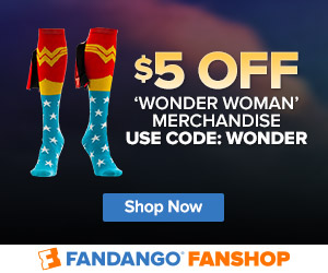 Fandango - FanShop $5 Off Wonder Woman Gear
