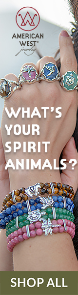 American West Jewelry - Animals - Earth Spirit