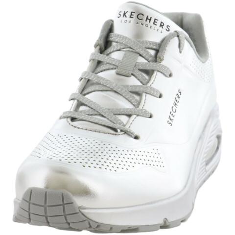 Skechers Women's Uno-Molten Metallic Ankle-High Sneaker