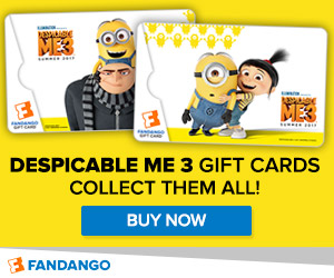 Fandango - Despicable Me 3 Gift Cards