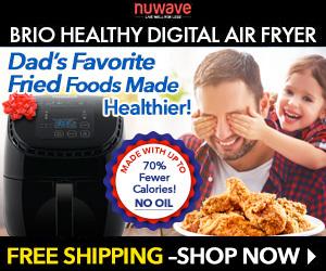 Dad's Favorite Fried Foods Made Healthier - NuWave Oven