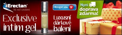 Erectan Exclusive intim gel - doprava zdarma