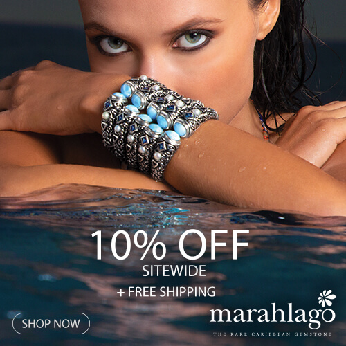 10% OFF on Larimar Jewelry  Sitewide