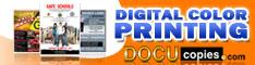 DocuCopies.com - Low Cost Digital Color Printing