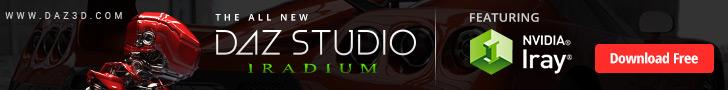 DAZ Studio FREE 3D SOFTWARE