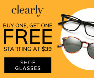 Buy One, Get One Free From $39 at Clearly! Shop now with code BOGO at checkout.
