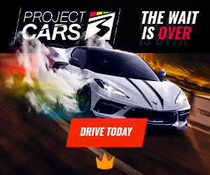 KINGUIN - Project CARS 3 is here! Drive Today with 8% off code! – 300×250
