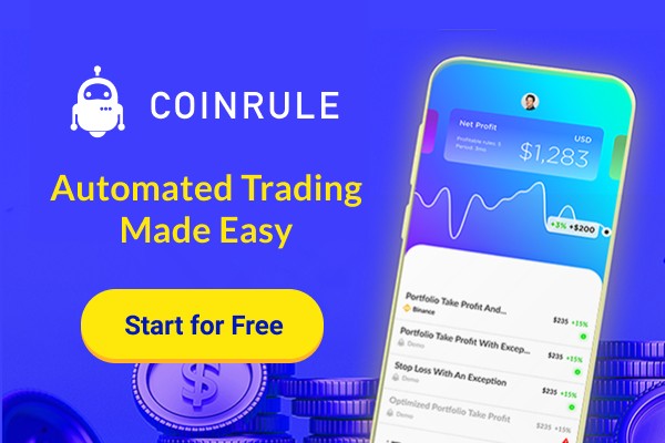 Coinrule: Automated Trading Made Easy!