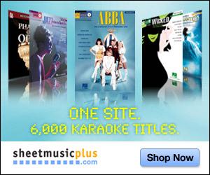 Sheet Music Plus - Karaoke