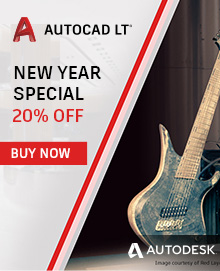 New Year Special: Get 20% off AutoCAD LT