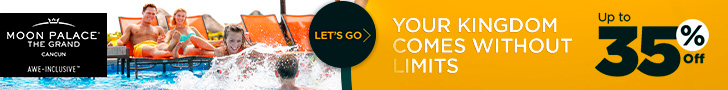 Rethink Winter. Up to 40% at The Grand at Moon Palace. Book Now!