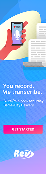 You record, we transcribe. $1/min, 99% accuracy, Same-Day Delivery