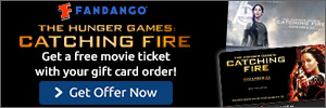 The Hunger Games Catching Fire Gift Cards